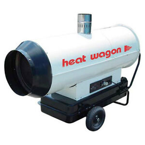 Heat Wagon Oil Indirect Fired Heater 205k Btu Ductable Lot Of 1