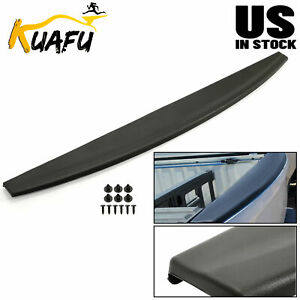 Tailgate Cover Mold Top Cap Protector Spoiler For 09 18 Dodge Ram 1500 2500 3500