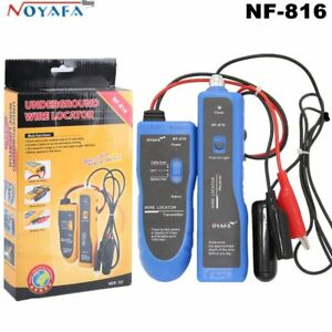 Noyafa Nf816 Underground Cable Wire Locator Tracker Lan Earphone Easily Locat B2