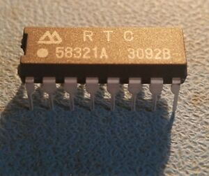 25pcs Rtc58321a Real Time Clock Module 4 bit I o Connection Real Time Clock Modu
