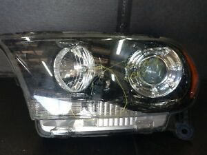 2011 2012 2013 Dodge Durango Left Driver Side Xenon Headlight For Parts Only