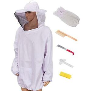 Beekeeping Supplies Beecastle Jacket With Gloves Beehive Brush Hook Queen And
