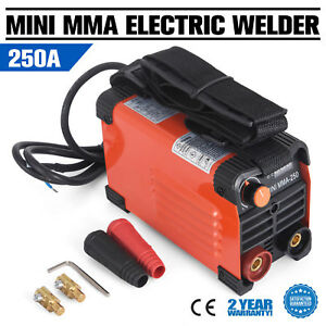 250amp Handheld Electric Welder Mma 250 220v Inverter Stick Arc Welding Machine