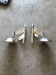1956 1957 Ford 56 57 Thunderbird Oem Outside Side Mirrors Left And Right