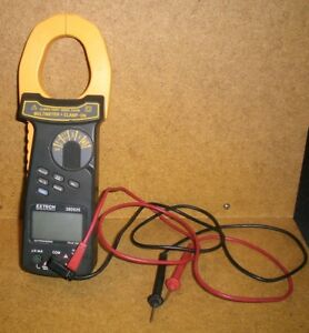Extech 380926 Multimeter Clamp on Trms True Rms Dmm 2000a Clamp Meter Cat Iii