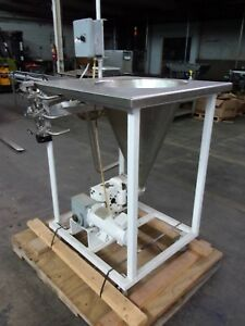 Stainless Steel Food Pump With Applicator Vari speed Controlled Nice System