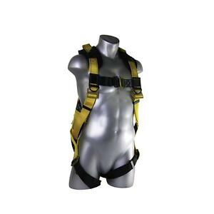 Protective Construction Safety Harness Torso Body Support Rescue Gear Vest Strap