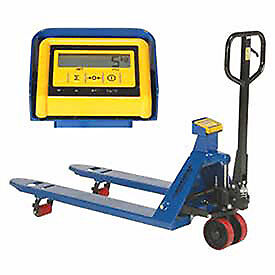 Pallet Jack Scale Truck With Weight Indicator 27 X 48 4400 Lb Capacity Lot