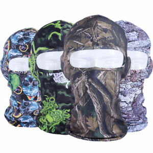 US FAST Balaclava Printed Full Face Mask Outdoor Lycra Cycling Windproof Helmet