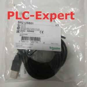 New In Box Schneider Plc Zelio Usb Programmable Cable Sr2usb01 One Year Warranty