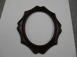 Oval Picture Frame Woodtome 8 X 10 Inside Dimensions Free Shipping