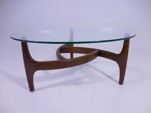 Vintage 60 S Cocktail Coffee Table Mid Century Danish Modern Kagan Pearsall Era