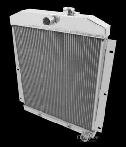 1947 To1948 Chevy Pickup Truck Mc5100 Champion Four Row All Aluminum Radiator