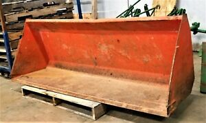 Kubota M1047 72 Tractor Loader Bucket Ie Dirt Gravel Smooth Bucket 6 Foot