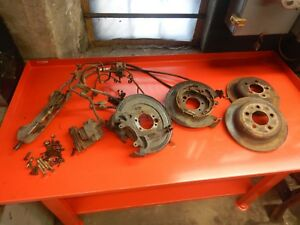 Jeep Dana 35 44 Rear Axle Disc Brake Conversion Kit Wrangler Cherokee Grand
