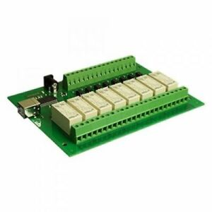 Devantech 8 channel 16a Optically Isolated Usb Relay Module