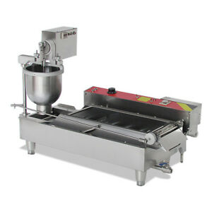 usa 3 Size Commercial Electric Automatic Doughnut Donut Machine Maker Fryer New