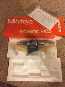 Mitutoyo 350 711 30 Digital Micrometer Digimatic Head 0 1