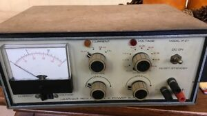1 Vintage Heathkit Ip 27 Regulated Low Voltage Power Supply 120v Input