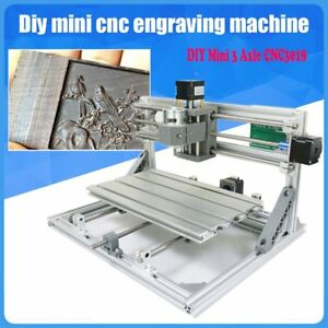 3018 Mini Engraving Milling Machine Engraver Cnc Router Pcb Metal Desktopmachine