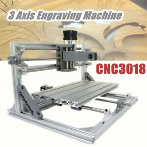 Mini Cnc 3018 Router Kit Engraver Wood Engraving Carving Pcb Milling Machine Diy