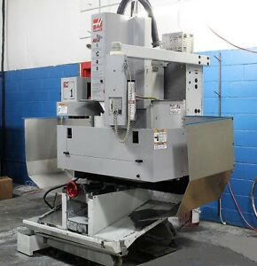 Haas Tm 1 Cnc Vertical Machining Center 10 Station Tool Changer Low Hours