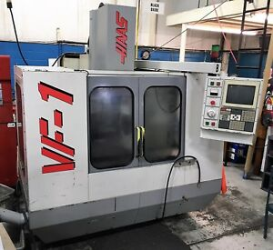 Haas Vf 1 Vertical Mill Machining Center Gear Box P cool New Spindle Drive