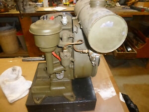Vintage Lausen Air Cooled Military Rope Start