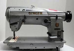 Singer 457g115 Zigzag Straight Lockstitch Reverse Industrial Sewing Machine Head