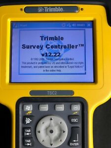 Trimble Tsc2 Tds Ranger 500 Survey Controller 12 2 Data Collector Gnss Bluetooth