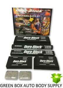 Durablock Af44a Kit 6 Piece Sanding Block Set 4400 4401 4402 4404 2x 4405 Durab