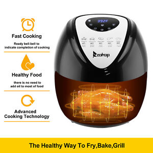 1800w Airfryer Xl Electric System 5 6 Qt No oil Deep Air Fryer Computer Control
