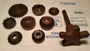 8 Cylinder Head Valve Seat Bowl Angle Cutters Grinders Hogs Van Norman Sioux Usa