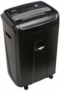 Amazonbasics 24 sheet Cross cut Paper Cd And Credit Card Shredder With Pullout