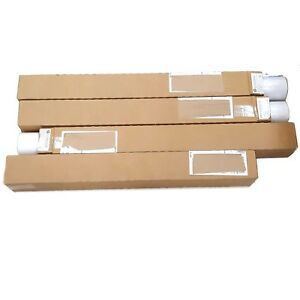 Lot Of 4 New Hp Designjet Large Format Plotter Paper 36 X 150 Ft Q1405a White