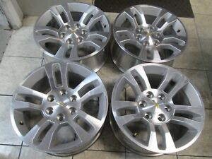 18 Chevy 1500 Silverado Tahoe Avalanche Factory Oem Wheels Rims