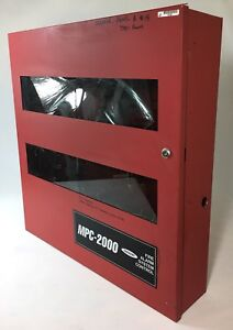 Faraday Mpc 2000 Fire Alarm System Control Panel Cabinet