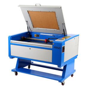80w Co2 Laser Engraving Cutting Machine Engraver Cutter 700 500mm W Cnc Rotary