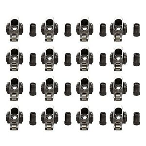 1 6 7 16 Sbc Stainless Steel Roller Rocker Arms For Sb Chevy 283 327 350
