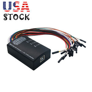 Usb Logic Analyzer 100m Max Sample Rate 16ch Ver Support 1 2 10 Software Usa