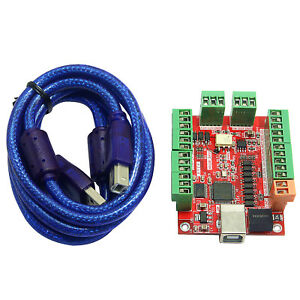 4 Axis Motion Controller Breakout Board For Stepper Motor Engraving Machine Usa