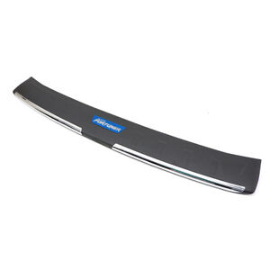Rear Sill Bumper Step Cover Black For Toyota Fortuner Suv 2015 2018