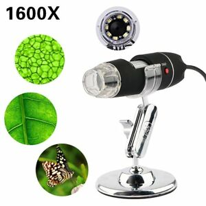 1600x Digital Microscope Usb Endoscope Camera 8 Led Mini Digital Microscope Mac