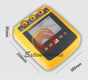 1535 Fluke Large Screen High Voltage Insulation Resistance Tester