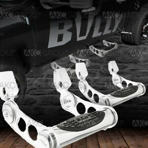 Pair Of Adustable Truck Side Step For Select Ford Gmc Chevy Dodge Ram Tucks Suv