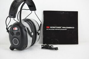 New 3m Worktunes Wireless Hearing Protector With Bluetooth Technology
