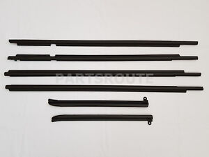 Toyota Land Cruiser Prado Gx470 Oem Quarter Door Belt Moulding Black Set 03 09