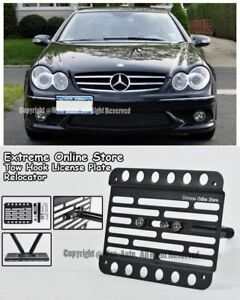 Eos Tow Hook License Plate For 03 09 Benz W209 Clk55 Amg Clk 63 Amg No Pdc