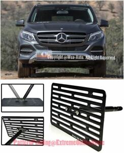 Eos Full Sized Front Tow Hook License Plate Bracket For 16 up Mb Gle300d Gle350