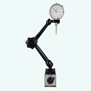 All Industrial 52000 0 1 Dial Indicator Noga Mg10533 Magnetic Base